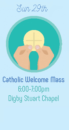 Catholic Welcome Mass