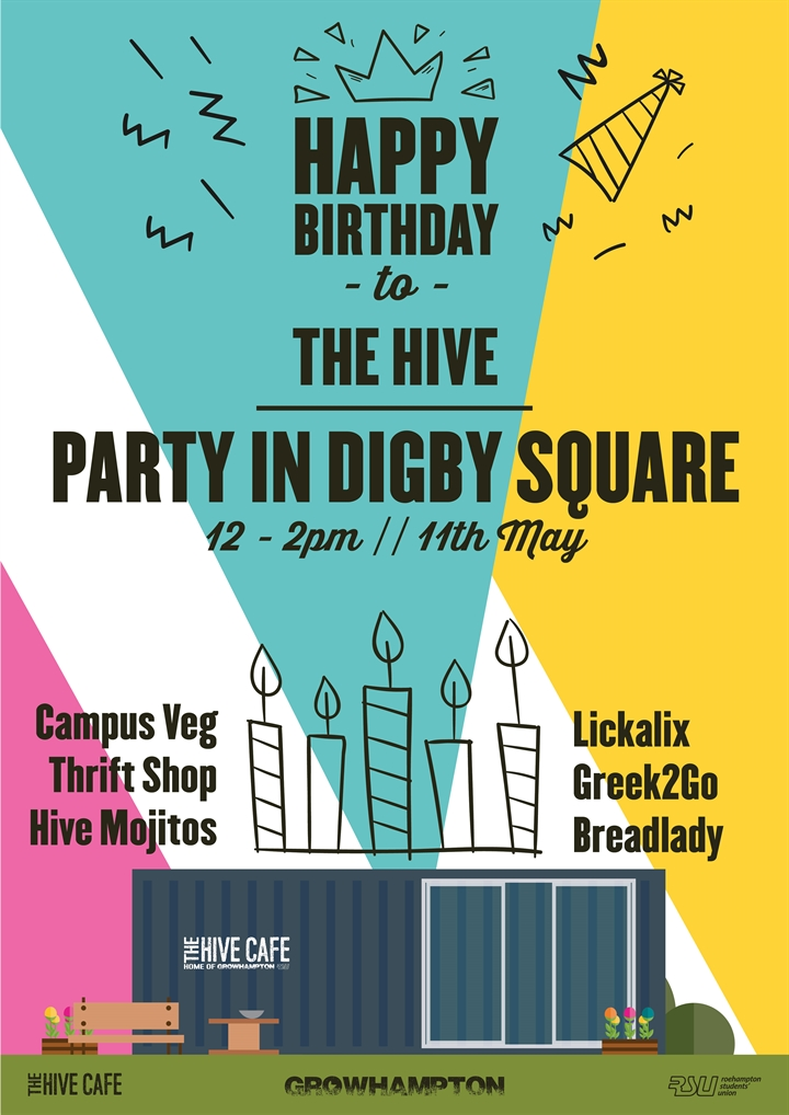 The Hive's Birthday Party