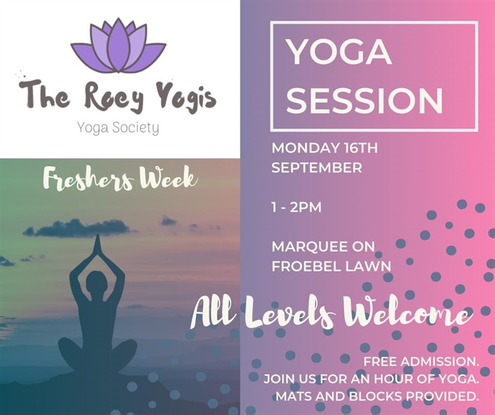 Free Yoga Session - Welcome Week