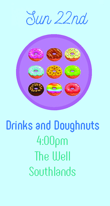 Drinks and Doughnuts