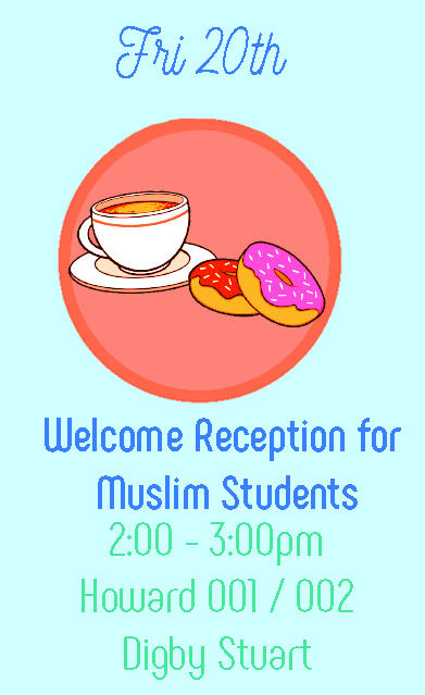 Welcome Reception for Muslim Students