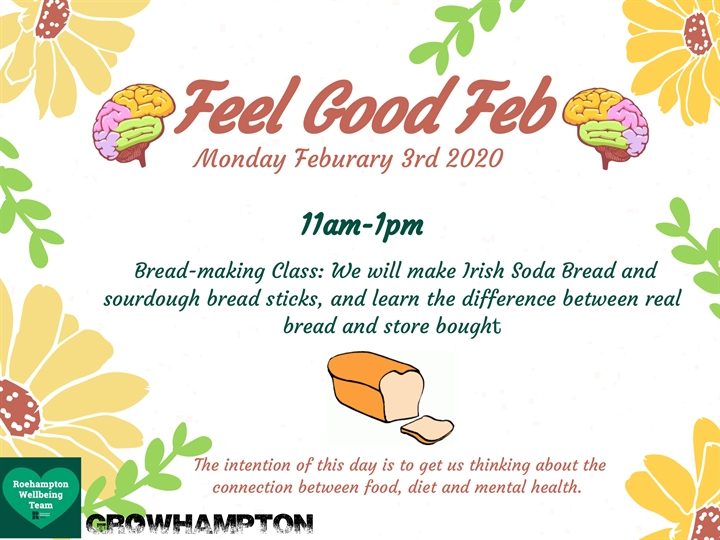 FeelGoodFeb: Bread Making Class