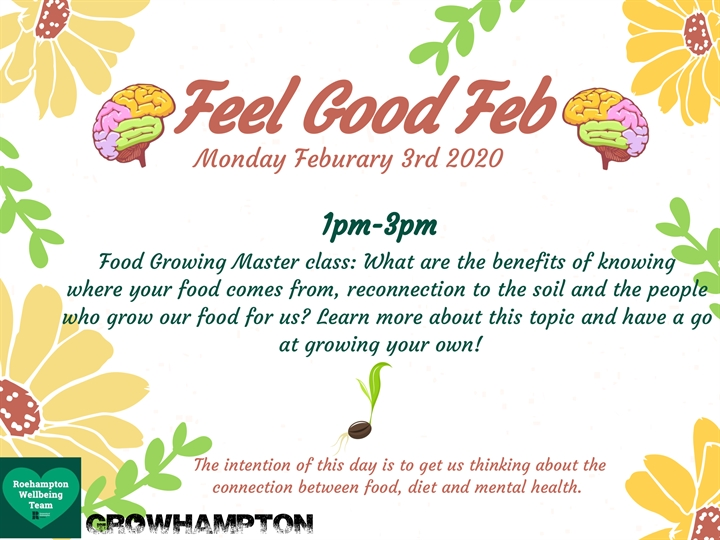 FeelGoodFeb: Food Growing Masterclass