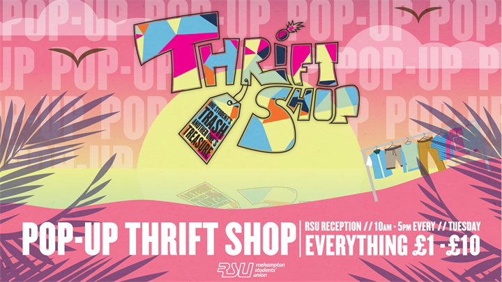 Thrift Shop POP-UP!