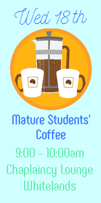 Mature Students' Coffee