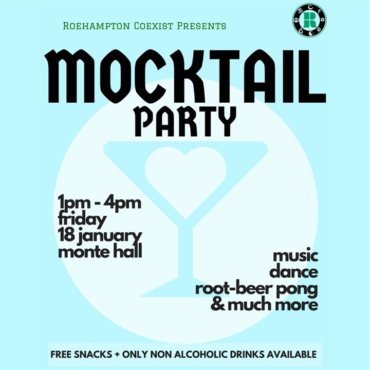Re-fresher's Mocktail Party